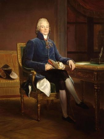 Charles-Maurice de Talleyrand-P?gord, 1754-1838, French statesman and diplomat by Francois Gerard
