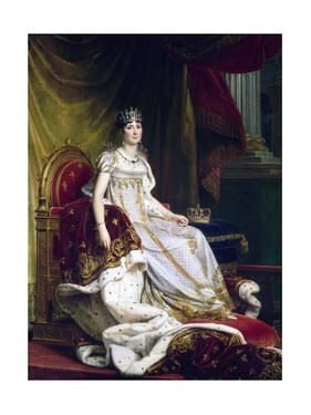 Empress Josephine in Coronation Robes by Francois Gerard