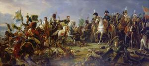 Napoleon Bonaparte at the Battle of Austerlitz by Francois Gerard