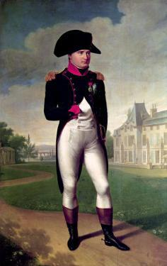Napoleon I (1769-1821) in Front of the Chateau De Malmaison, 1804 by Francois Gerard