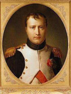 Portrait of Napoleon in Uniform by Francois Gerard