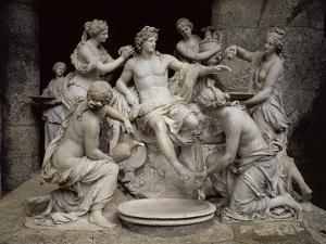 Apollo Served by the Nymphs by François Girardon