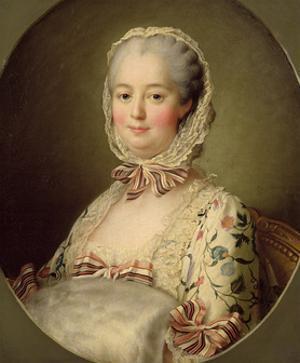 Portrait of the Marquise de Pompadour (1721-64) 1763 by Francois-Hubert Drouais