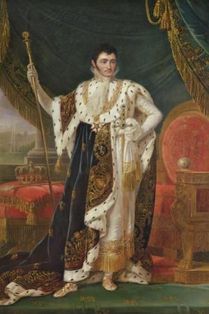 Portrait of Jerome Bonaparte (1784-1860) King of Westphalia