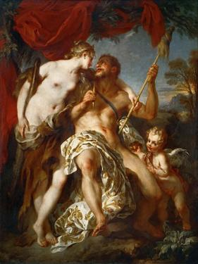 Hercules and Omphale by François Le Moyne