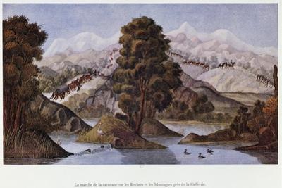 Caravan in the Mountains of British Kaffraria