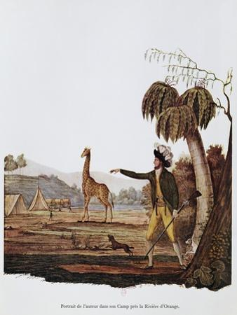 Francois Le Vaillant at the Camp Along the Orange River