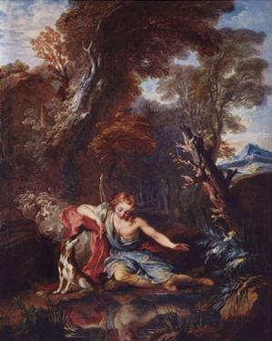 Francois Lemoyne (Narcissus) Art Poster Print