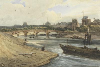 Pont De La Concorde and the Palais Des Tuileries from the Cours La Reine