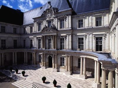 View of Gaston D'Orleans Wing, 1635-1638
