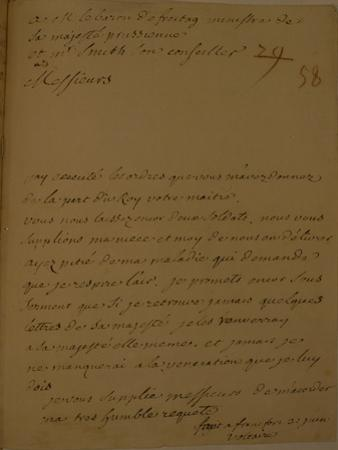 A Petition to Be Released from Jail, 31st June 1753
