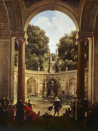Cardinal Pietro Aldobrandini Receiving Domenichino, 1822-1823 by Francois-Marius Granet