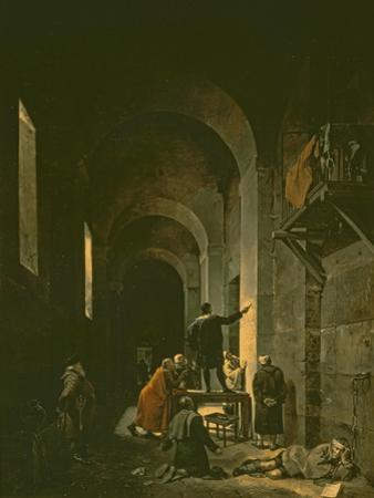 Jacques De Stella by Francois-Marius Granet
