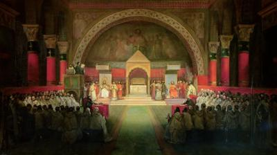 The Chapter of the Order of the Templars Held at Paris, 22nd April 1147, 1844 by Francois-Marius Granet
