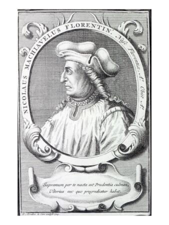 Niccolo Machiavelli, 1724