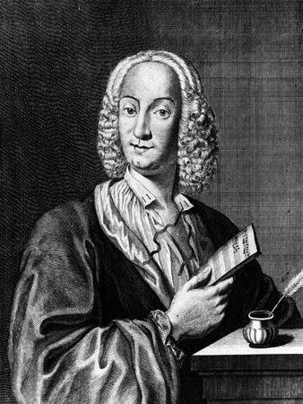 Portrait of Vivaldi Holding a Sheet of Music, 1725