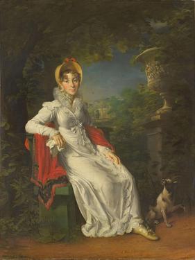 Caroline Bonaparte (1782-183), Queen of Naples and Sicily, in the Bois De Boulogne, 1820-1830 by François Pascal Simon Gérard