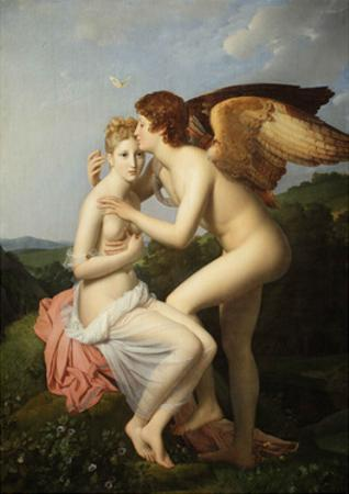 Cupid and Psyche by François Pascal Simon Gérard