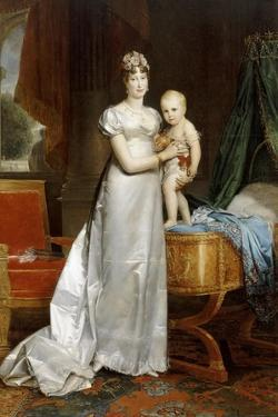 Empress Marie-Louise with the King of Rome by François Pascal Simon Gérard