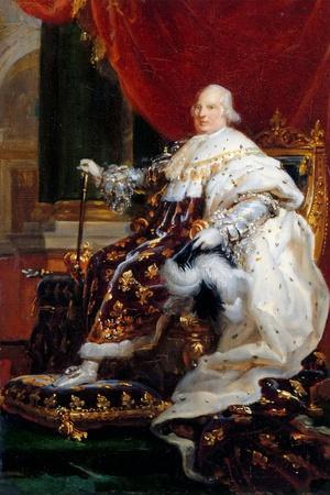 Portrait of Louis XVIII (1755-182)