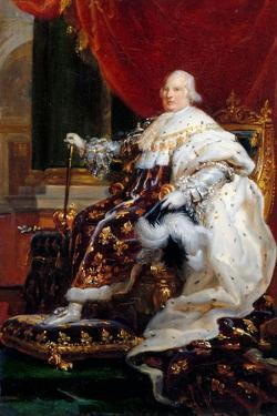 Portrait of Louis XVIII (1755-182) by François Pascal Simon Gérard