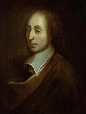 Blaise Pascal (1623-62) circa 1691 by Francois Quesnel