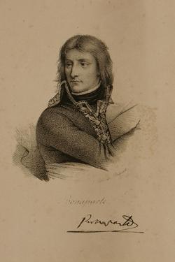 Portrait of Napoleon Bonaparte (1769-1821) by Francois Seraphin Delpech