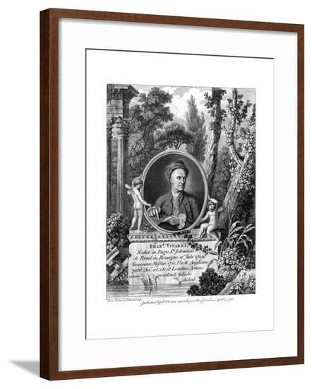 Francois Vivares--Framed Giclee Print