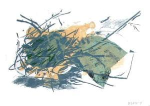 Composition VII by Françoise Bertsch