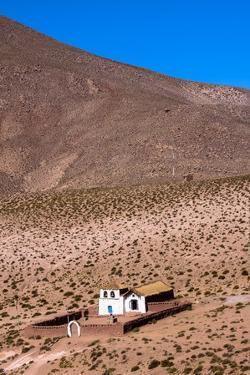 A Church in Machuca, Atacama Desert, Chile and Bolivia by Françoise Gaujour