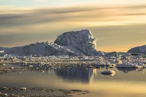 Iceberg, Disko Bay, Greenland by Françoise Gaujour