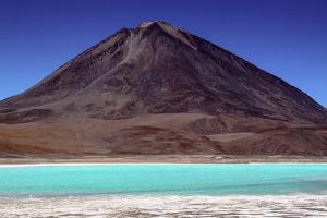 Laguna Verde, Atacama Desert, Bolivia by Françoise Gaujour