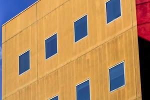 Skyscraper Façade in Los Angeles, USA by Françoise Gaujour
