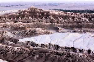 The Moon Valley, Atacama Desert, Chile by Françoise Gaujour