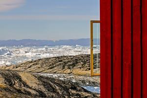 View from the Hotel Arctic in Ilulissat, Greenland by Françoise Gaujour
