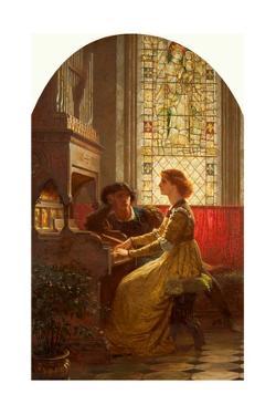 Harmony, 1879 by Frank Bernard Dicksee