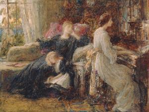 Memories, C.1886 by Frank Bernard Dicksee