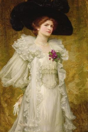 My Lady Fair, 1903 by Frank Bernard Dicksee