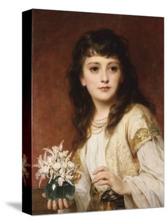 Portrait of a Girl by Frank Bernard Dicksee