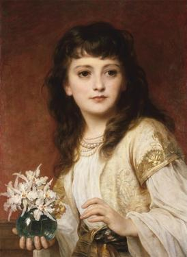 Portrait of a Girl by Frank Bernard Dicksee