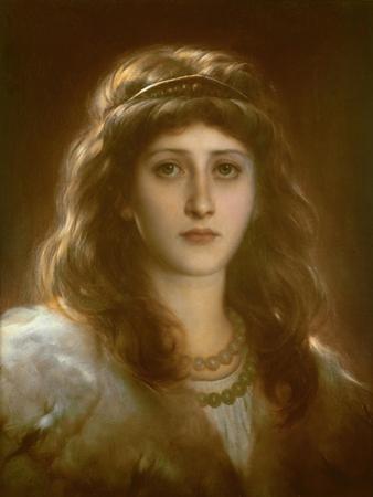 Portrait of a Lady by Frank Bernard Dicksee