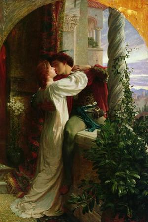 Romeo and Juliet, 1884 by Frank Bernard Dicksee