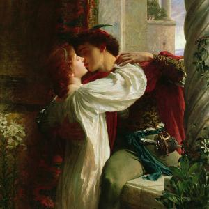 Romeo and Juliet, c.1884 by Frank Bernard Dicksee