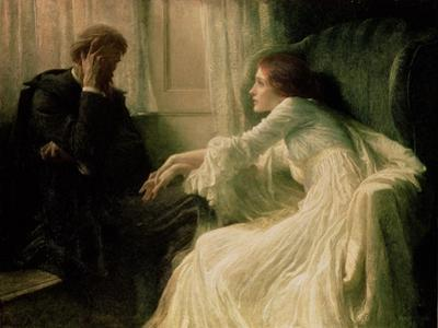 The Confession by Frank Bernard Dicksee