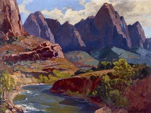 Cathedral Peak by Frank Bischoff