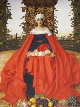 Our Lady of the Fruits of the Earth by Frank Cadogan Cowper