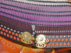 Detail of Traditional Soldier Costume, Jidai Matsuri (Festival of the Ages) by Frank Carter