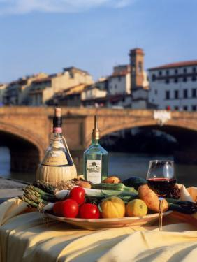 Tuscany Food and Wine, Florence, Italy by Frank Chmura