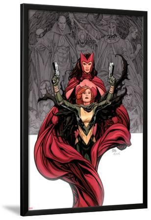 Avengers Vs. X-Men No.0 Cover: Hope Summer and Scarlet Witch by Frank Cho