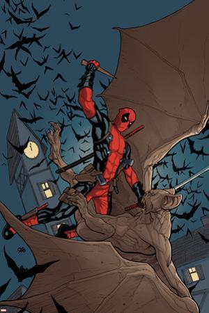 Deadpool: the Gauntlet #1 Cover: Deadpool by Frank Cho